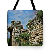 Entry To Saint John's Basilica Grounds In Selcuk-turkey Tote Bag
