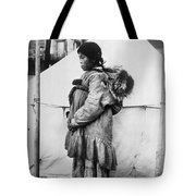 Eskimo Woman And Child Tote Bag