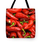Espelette Peppers Tote Bag
