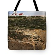 Espichel Cape Lighthouse Tote Bag