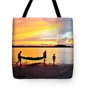 Evening Fire 4 Tote Bag
