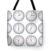 Every Hour Tote Bag