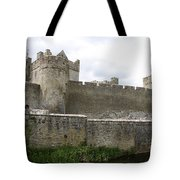 Exterior Of Cahir Castle Tote Bag
