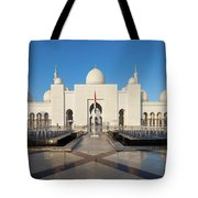Exterior View Of Sheikh Zayed Grand Tote Bag