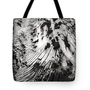 Eyjafjallajokull Glacier And Ashes  Tote Bag