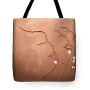Faces - Tile Tote Bag