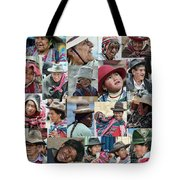 Faces Tote Bag