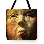 Facing It Tote Bag