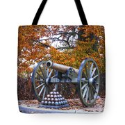 Facing Pickettes Charge Tote Bag