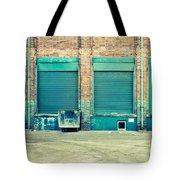 Factory Doors Tote Bag