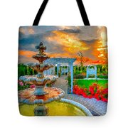 Fairytale Garden Tote Bag by Julis Simo