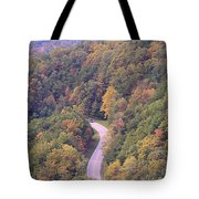 Fall Drive In The Smokies Tote Bag