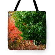 Fall Garden Tote Bag