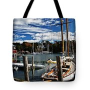Fall In The Harbor Tote Bag