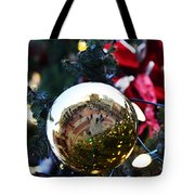 Faneuil Hall Christmas Tree Ornament Tote Bag