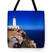 Far De La Mola On Formentera Tote Bag