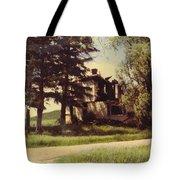 Farmhouse Landscape Tote Bag