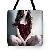 Fashion Portrait Tote Bag