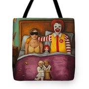 Fast Food Nightmare Tote Bag