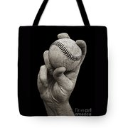 Fastball Tote Bag
