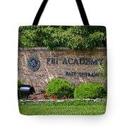 Fbi Academy Quantico Tote Bag