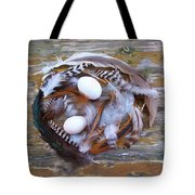 1. Feather Wrath Example Tote Bag