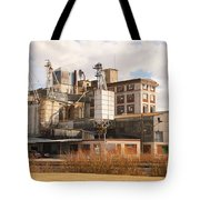 Feed Mill Tote Bag by Charles Beeler