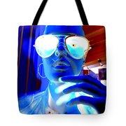 Feelin Blue Tote Bag