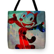 Felix The Cat Tote Bag