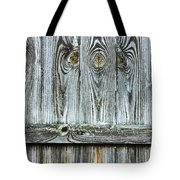 Fence Detail Tote Bag