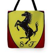 Ferrari Emblem Tote Bag