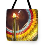 Ferris Wheel Evergreen State Fair Tote Bag