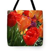 Festival Of Tulips Tote Bag