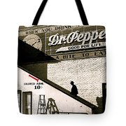Feud Of The Range Homage Marion Post Wolcott Biloxi Mississippi 1939-2010 Tote Bag