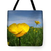 Field Of Buttercups Tote Bag