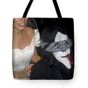 Film Homage Bela Lugosi Ed Wood Bride Of The Monster 1955 Halloween Party Casa Grande Arizona 2005 Tote Bag