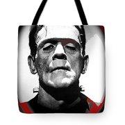 Film Homage Boris Karloff The Bride Of Frankenstein 1935 Publicity Photo 1935-2012 Tote Bag