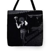 Film Homage Charlie Chaplin The Circus 1928 Clown Strong Circus Bisbee Arizona 1980 Tote Bag