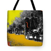 Film Homage Haskell Wexler Days Of Heaven Hay Wagons 1878-2008 Tote Bag