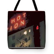 Film Homage Hot Pion 2010 Screen Capture Pioneer Hotel Tucson Arizona Tote Bag