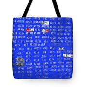 Film Homage License To Kill 1989 License Plates Ghost Town Crested Butte Colorado 1968-2012 Tote Bag