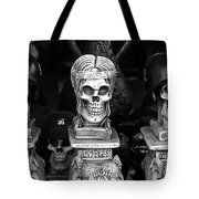 Film Noir Fritz Lang Ministry Of Fear 1944 Skeletons Nazi Helmets Nogales Sonora Mexico Tote Bag