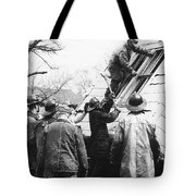 Film Noir Harry Morgan Jack Webb Allan Ladd Appointment With Danger 1951 Gas Explosion Aberdeen Sd Tote Bag