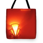 Film Noir Raymond Burr Robert Aldrich Red Light 1949 Art Deco Light Fox Tucson Theater 2006 Tote Bag