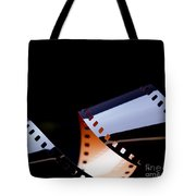 Film Strip Abstract Tote Bag by Tim Hester