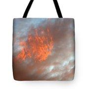 Fireball In The Sky Tote Bag