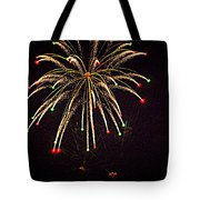 Fireworks In Neon Tote Bag