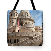 Fisherman Bastion In Budapest Tote Bag