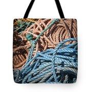 Fishing Ropes Tote Bag