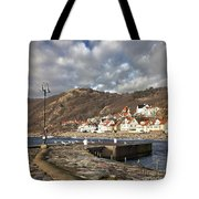 Fishing Village Of Molle In Sweden Tote Bag